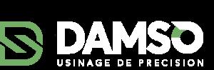 DAMSO Logo Blanc