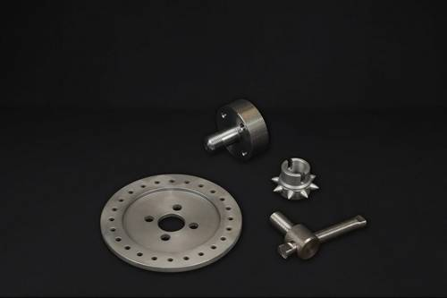 Machined parts for the food industry and agriculture